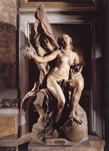 Truth by Gian Lorenzo Bernini