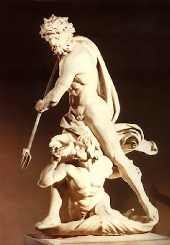 Neptune and Triton by Gian Lorenzo Bernini