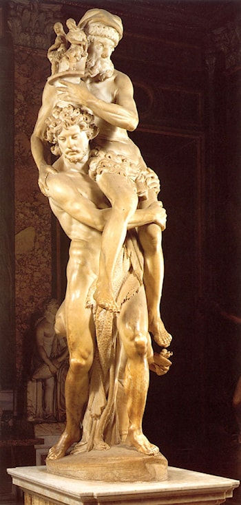 Aeneas and Anchises by Gian Lorenzo Bernini