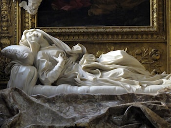 The Blessed Lodovica Albertoni by Gian Lorenzo Bernini