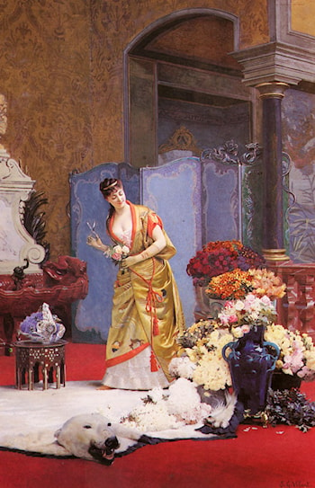 Autumn Flowers by Jehan Georges Vibert