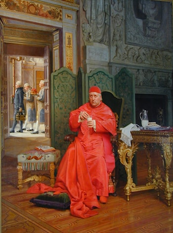 The Diet by Jehan Georges Vibert