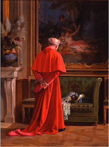 The View by Jehan Georges Vibert