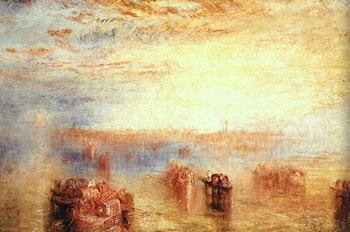 Approach to Venice by Joseph Mallord William Turner