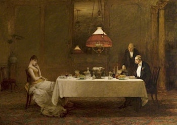 Le mariage de convenance by Sir William Quiller Orchardson