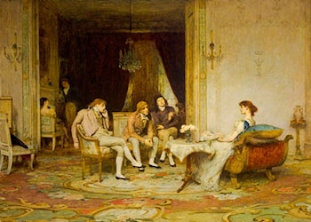 The Rivals by Sir William Quiller Orchardson