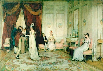 A Social Eddy by Sir William Quiller Orchardson