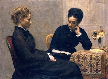 The Reading by Henri Fantin-Latour