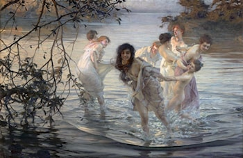 The Nymphs of the Dance by Paul Emile Chabas