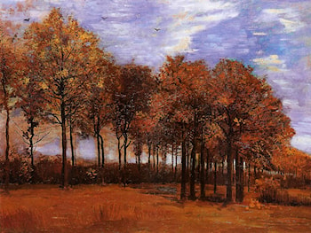 Autumn Landscape by Vincent van Gogh