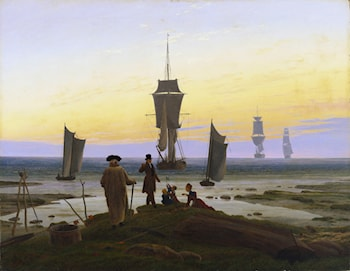 The Life Stages by Caspar David Friedrich