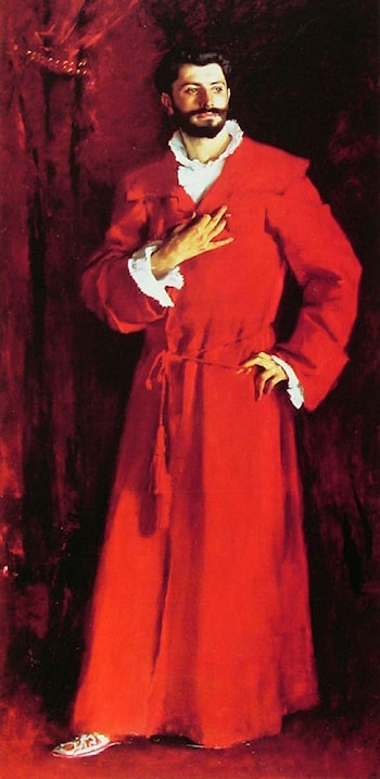Dr Pozzi at Home by John Singer Sargent