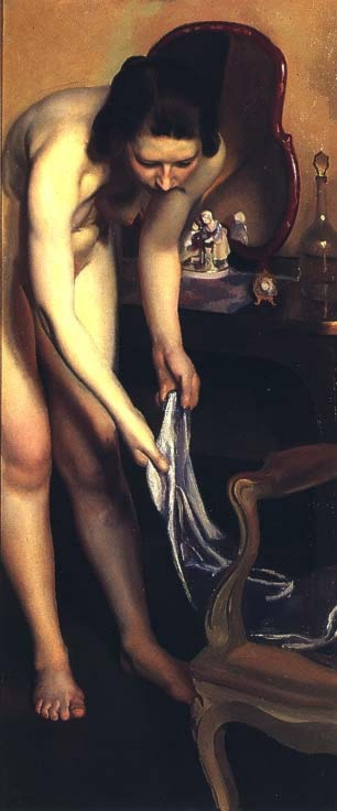 Lady at Her Toilette by Robert Hale Ives Gammell