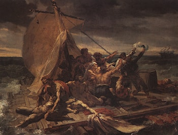 Study for The Raft of the Medusa by Theodore Gericault