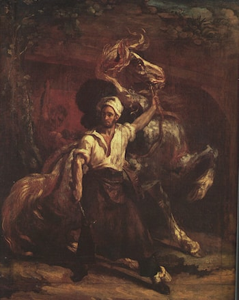 The Blacksmith's Signboard by Theodore Gericault