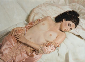 Satin and Lace by Mark Lovett