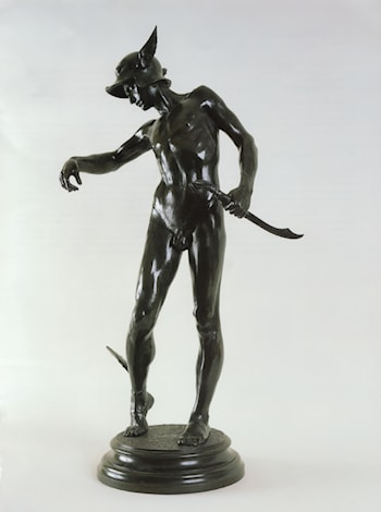 Perseus Arming by Alfred Gilbert