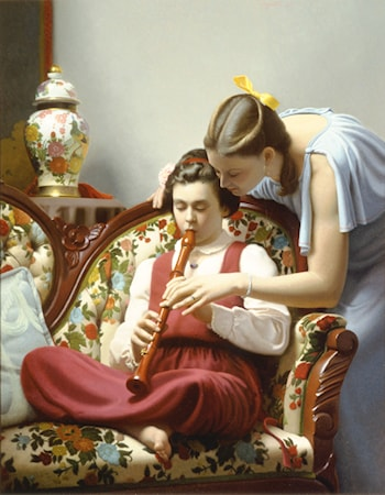 The Recorder Lesson by Stephen Gjertson