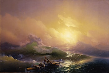 The Ninth Wave by Ivan Constantinovich Ayvazovsky