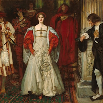 Who Is Sylvia? What Is She, That All the Swains Commend Her? by Edwin Austin Abbey