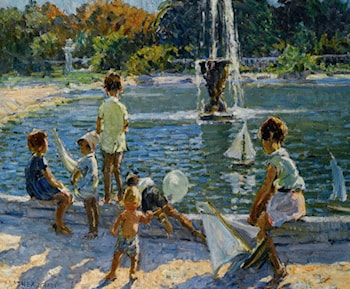 The Playground by Dorothea Sharp