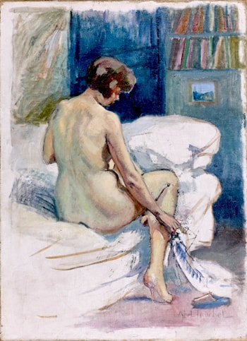 Seated Nude by Louis Abel-Truchet