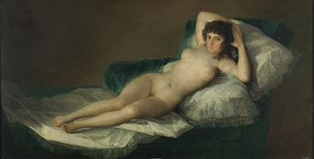 Nude Maja by Francisco de Goya