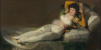 Clothed Maja by Francisco de Goya