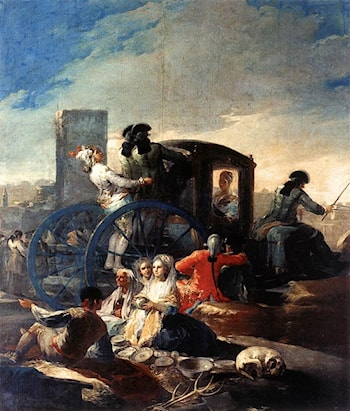The Crockery Vendor by Francisco de Goya