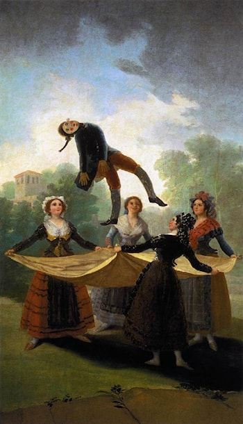 The Straw Manikin by Francisco de Goya