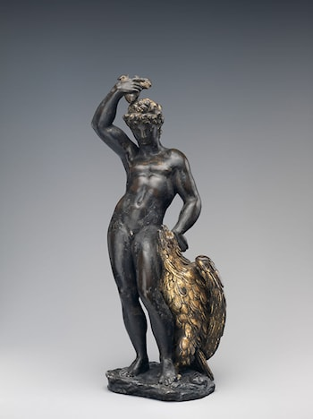 Ganymede with Eagle and Eaglet by Benvenuto Cellini