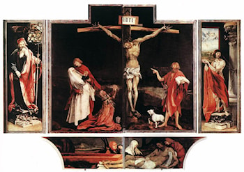 Isenheim Altarpiece (first view) by Matthias Grunewald