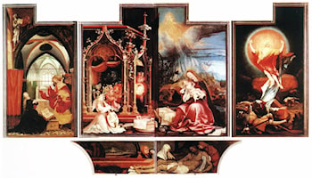 Isenheim Altarpiece (second view) by Matthias Grunewald