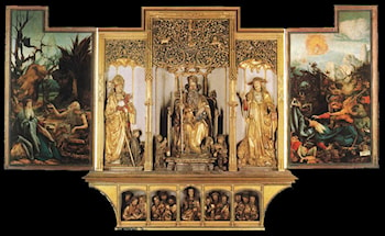 Isenheim Altarpiece (third view) by Matthias Grunewald