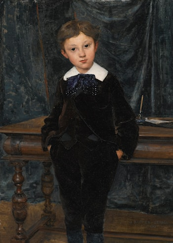 Le Petit Lord by Jules Bastien-Lepage