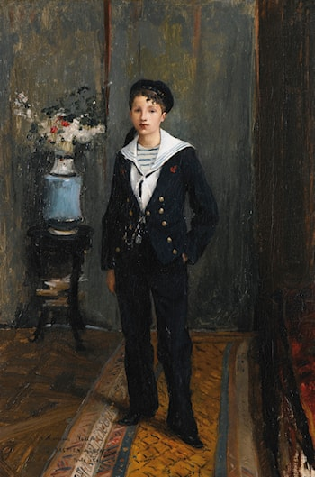 Portrait of a Young Boy by Jules Bastien-Lepage