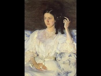 Girl with a Cat by Cecilia Beaux