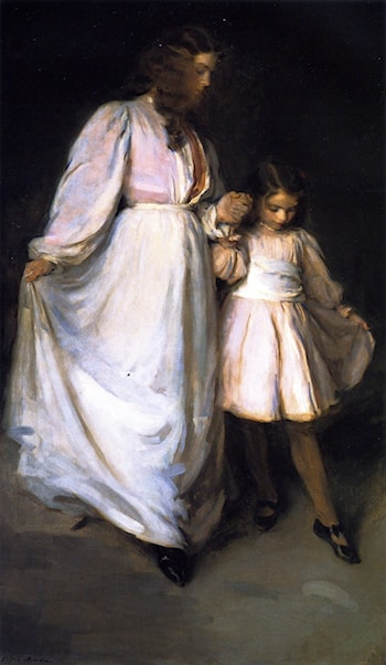 Dorothea and Francesca by Cecilia Beaux