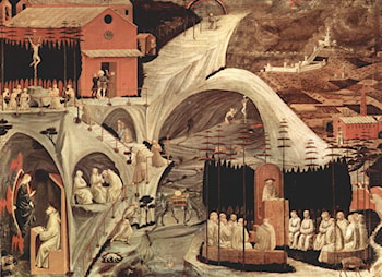 Scenes from the Hermit's Life by Paolo Uccello