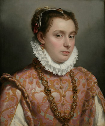 Young Lady by Giovanni Battista Moroni