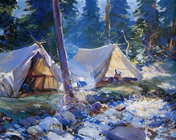The Camp by Frank Weston Benson