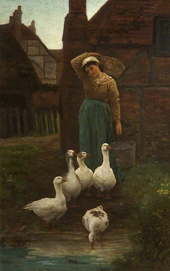 Michaelmas Geese by Alice Mary Havers