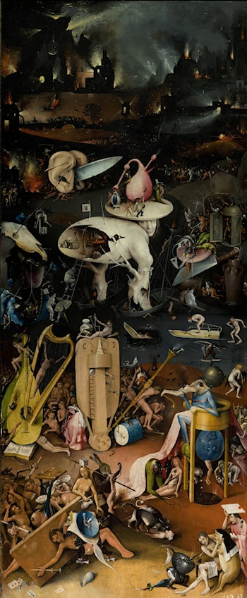 Garden of Earthly Delights - Right wing by Hieronymus Bosch