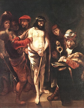 Christ before Pilate by Nicolaes Maes