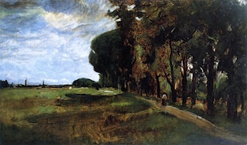 View near Polling by John Twachtman