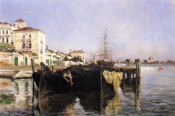 View of Venice by John Twachtman