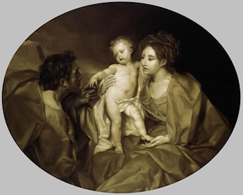 The Holy Family by Anton Raphael Mengs