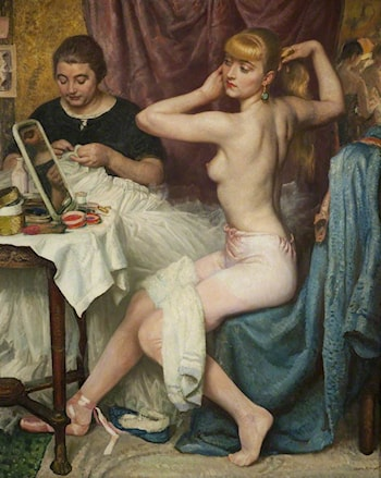 No. 1 Dressing Room by Laura Knight