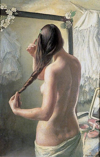 The Coil of Hair by Laura Knight
