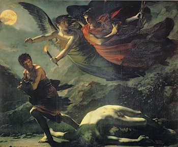Justice and Divine Vengeance Pursuing Crime by Pierre-Paul Prud'hon